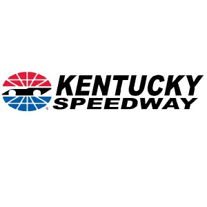 NASCAR driving at Kentucky Motor Speedway