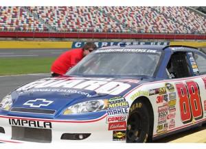 Dale Jr NASCAR race car