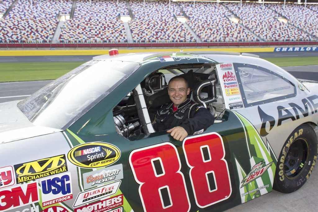 Reserve a driving experience at myrtle beach speedway for Nascar racing experience texas motor speedway