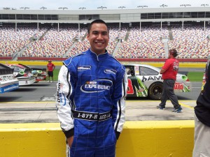 NASCAR Racing Experience customer