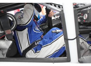 Getting loaded in NASCAR