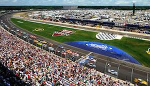 Michigan Speedway NASCAR Experience Schedule
