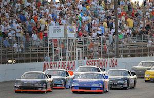 Myrtle Beach Speedway NASCAR Experience Schedule