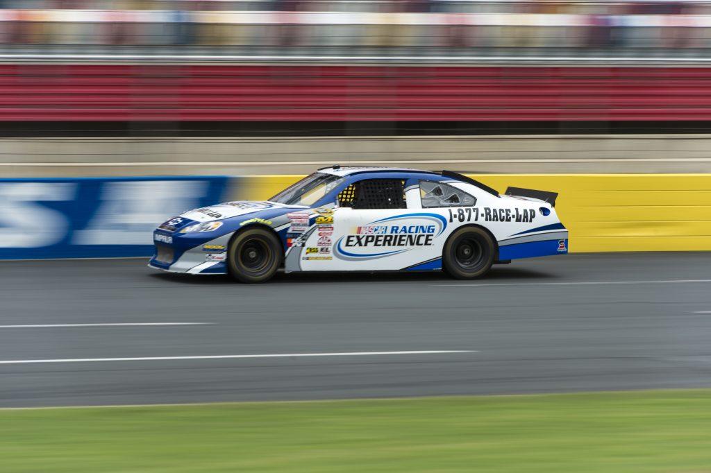 Nascar Racing Experience At The Kansas Speedway Sale