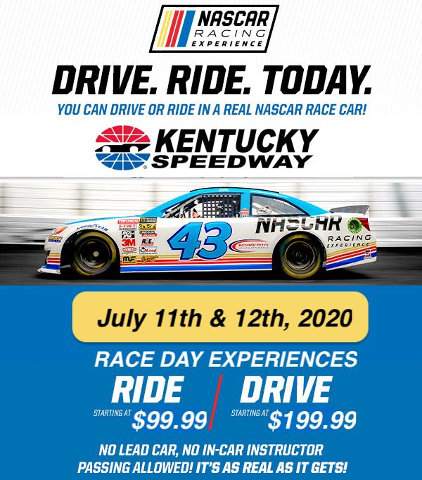 Kentucky Speedway Race Day Experience