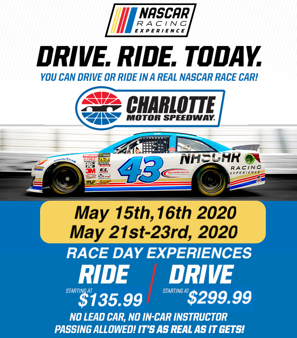 Charlotte Motor Speedway Race Day Experience